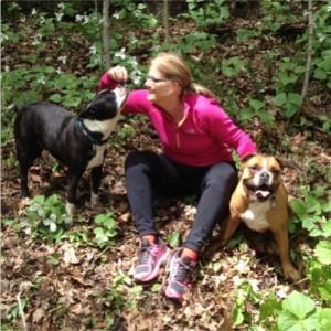 #100happydays Day 2 - Dog-day run