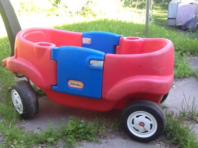 #100happydays Found a red wagon!