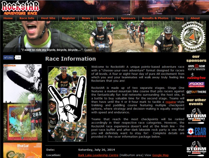 #100happydays Day 41 Rockstar Adventure Race