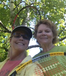 #100happydays Day 20 Tennis in the morning.