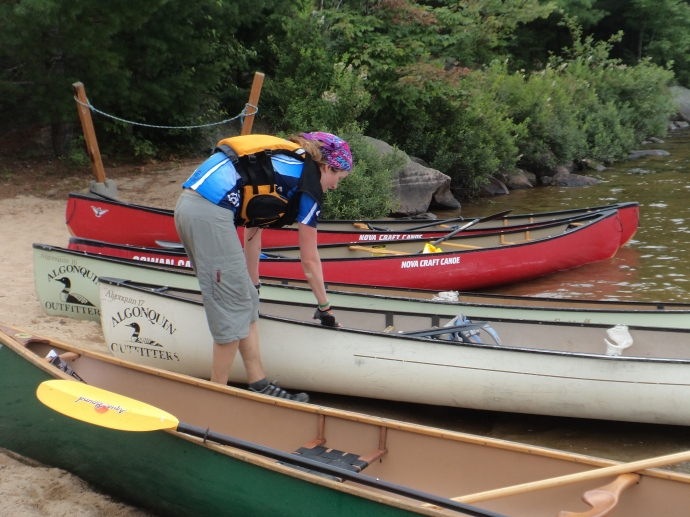 Sorting out canoes