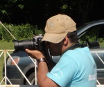 Our photographer, hard at work. Gaurav has been with the run since the beginning 13 years ago!
