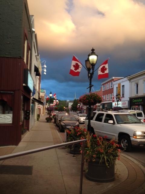 Intense Main Street Sky