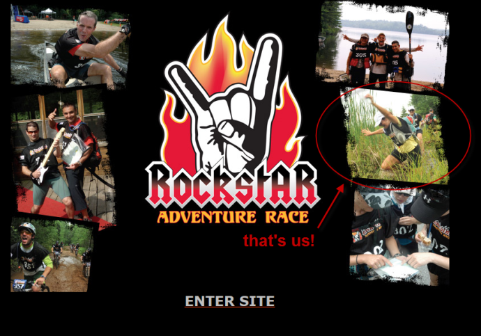 That's us on the home page of the Rockstar website.