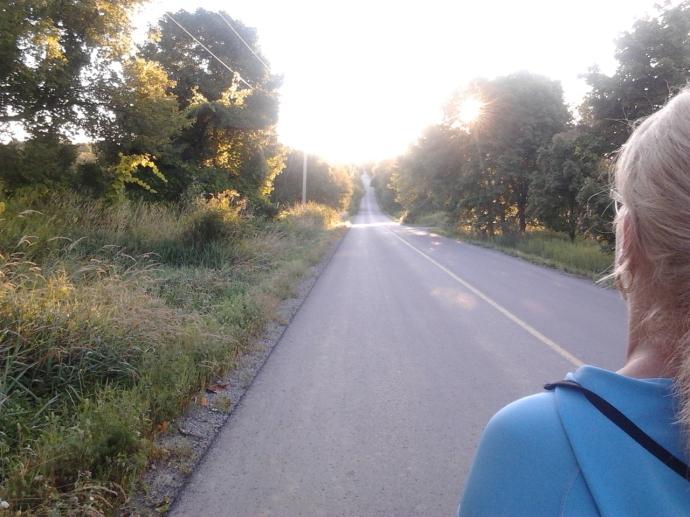Our quiet road