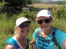 Smiles at the turn around cows!