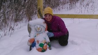 Frosty!
