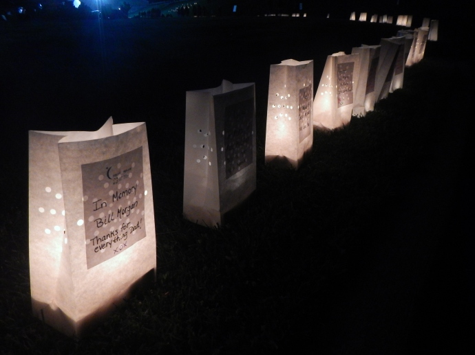Relay for Life luminaries